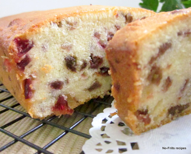 Cake With Fruit Yogurt : Yoghurt Fruitcake