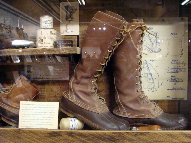 L.L. Bean display