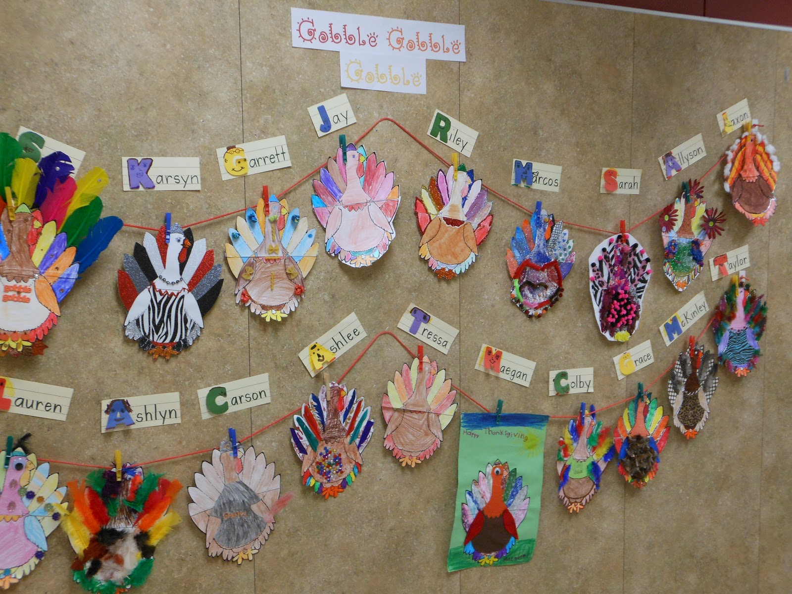 For the Love of First Grade: Turkey Time in Pictures