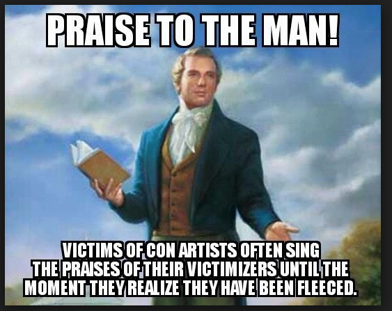 Praise to the Man!