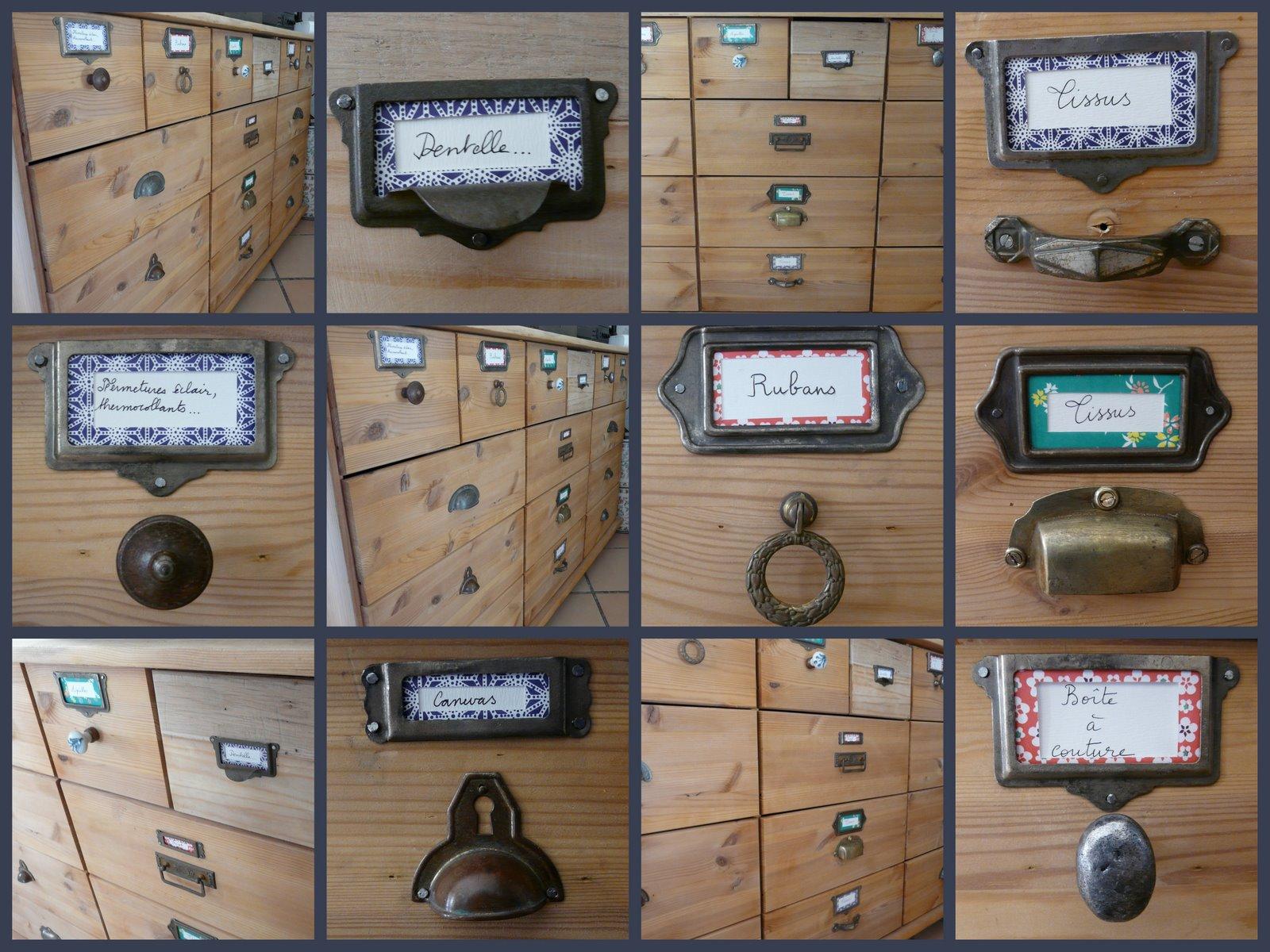 L 39 atelier de kiku meuble de m tier pour l 39 atelier for Meuble de metier brocante