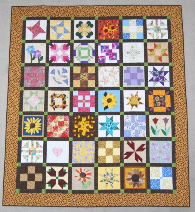 Quilting Designs Sashing : Valerie s Patch-Work: Easy Sashing For Your Quilts