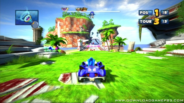 Sonic Games For Ps3 : Sonic sega all stars racing dlc download game ps