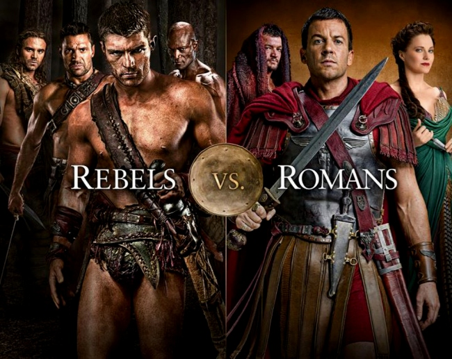 Spartacus Gloria Victis!! Resumen serie por Mixman | FAN CINE BLOG II
