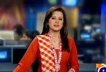 pak celebrity gossip: geo tv anchor sana mirza, photos