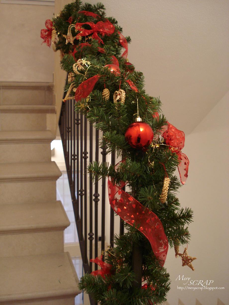 Meryscrap decori natalizi for Decorazione entrata casa
