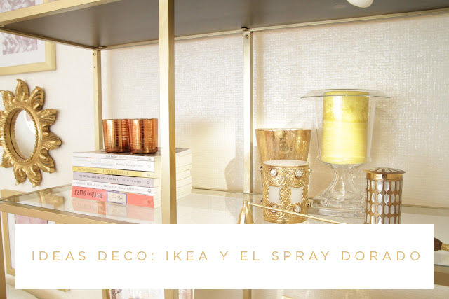 Milowcostblog ideas deco ikea y el spray dorado - Ideas decoracion ikea ...