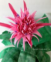 http://plumperfectandme.blogspot.com/2015/06/faux-silver-vase-bromeliad-diy.html