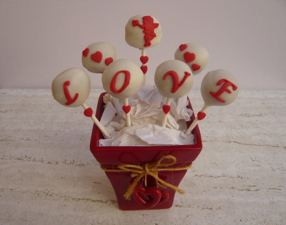 Unos Cake Pops Para El Dia De Los Enamorados Una Manera Original De