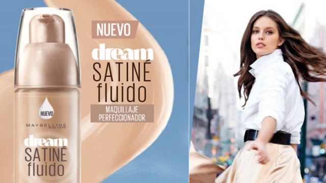 DREAM SATINÉ FLUIDO DE MAYBELLINE | MAQUILLAJE PERFECCIONADOR-49314-asieslamoda