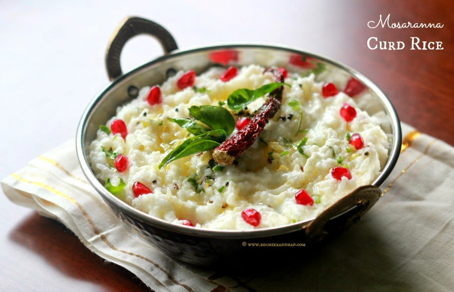 Curd Rice (Indian Rice With Yogurt) Recipe — Dishmaps