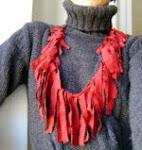 Tutorial: collana in cotone riciclato