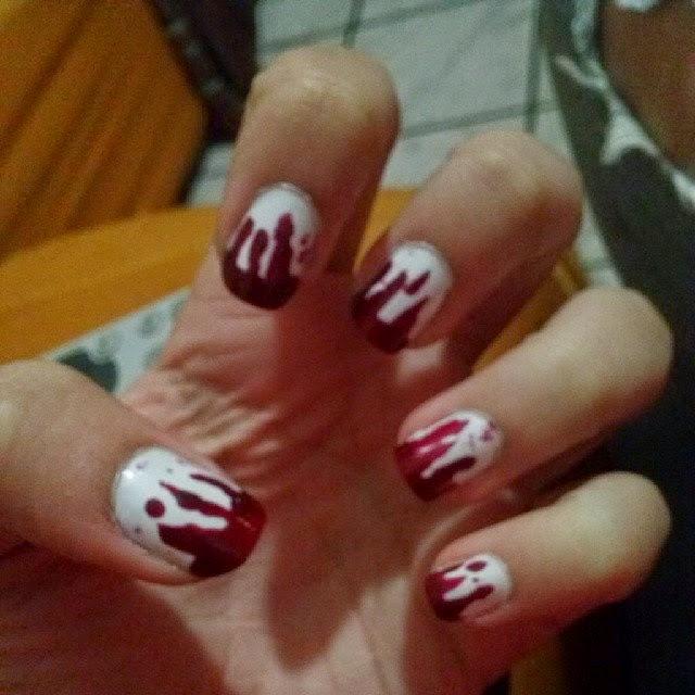 nail art horror