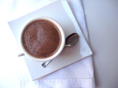 rich and creamy homemade hot chocolate