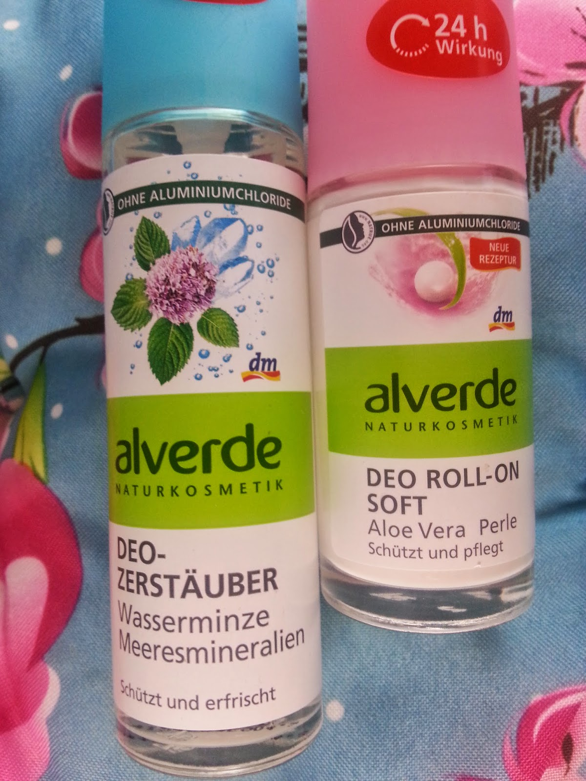 Alverde - Deo ohne Aluminium - www.annitschkasblog.de