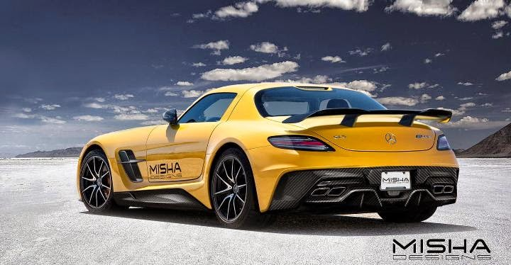 2016 Mercedes Benz Sls Amg By Misha Designs New Sports Cars 2014
