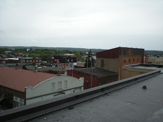From the roof of the Ely Community Ctr, photo by John Huisman