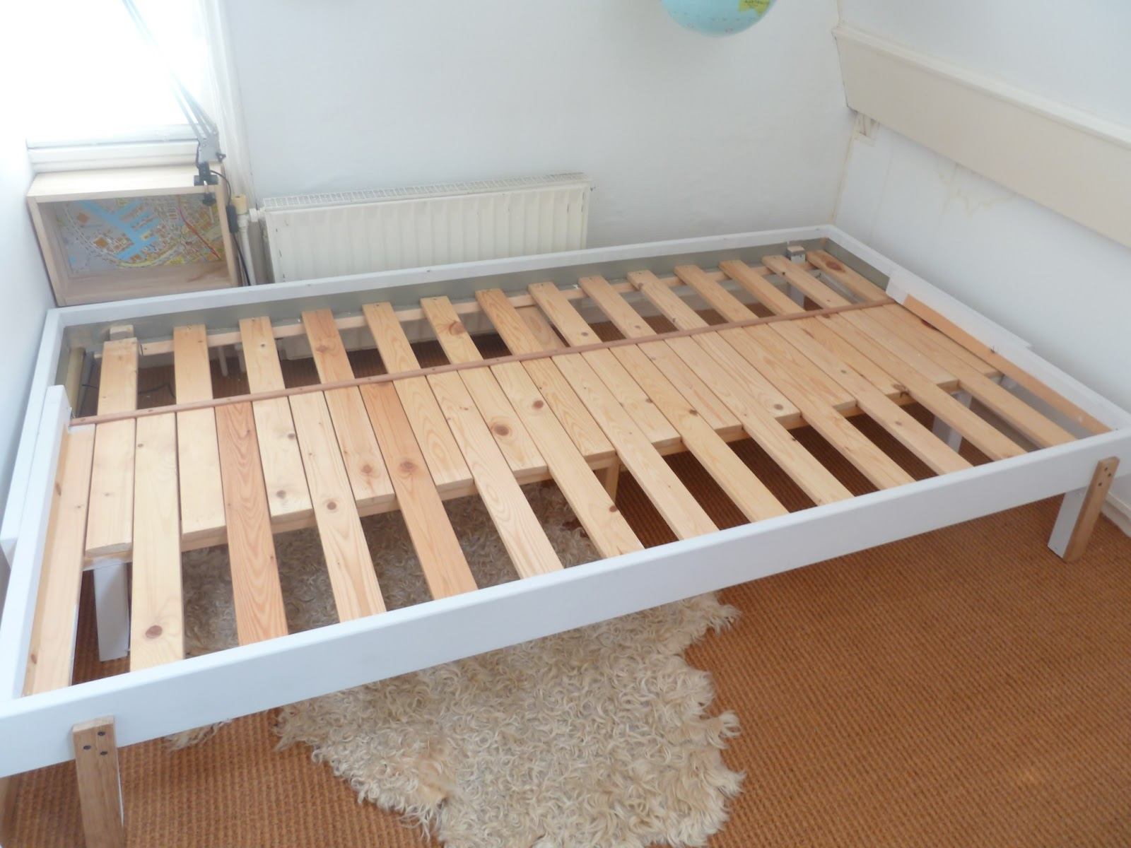 Practical Delights: Basic Ikea bed to pull-out bed ...