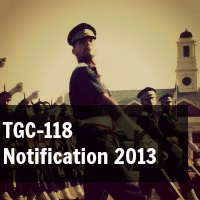 TGC 118 Notification