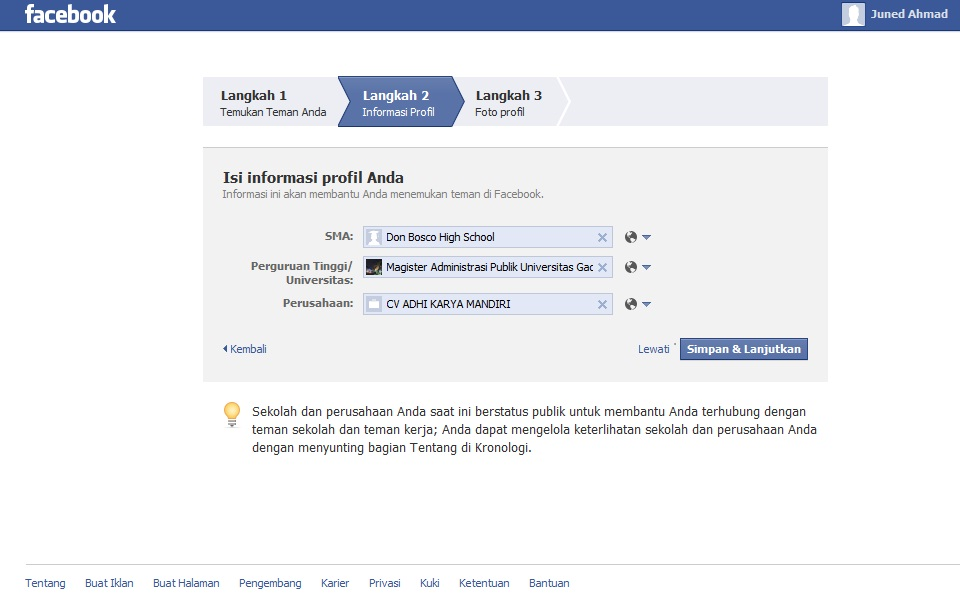 bagaimana cara membuat facebook