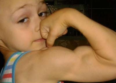 Budak 7 Tahun Badan Tegap