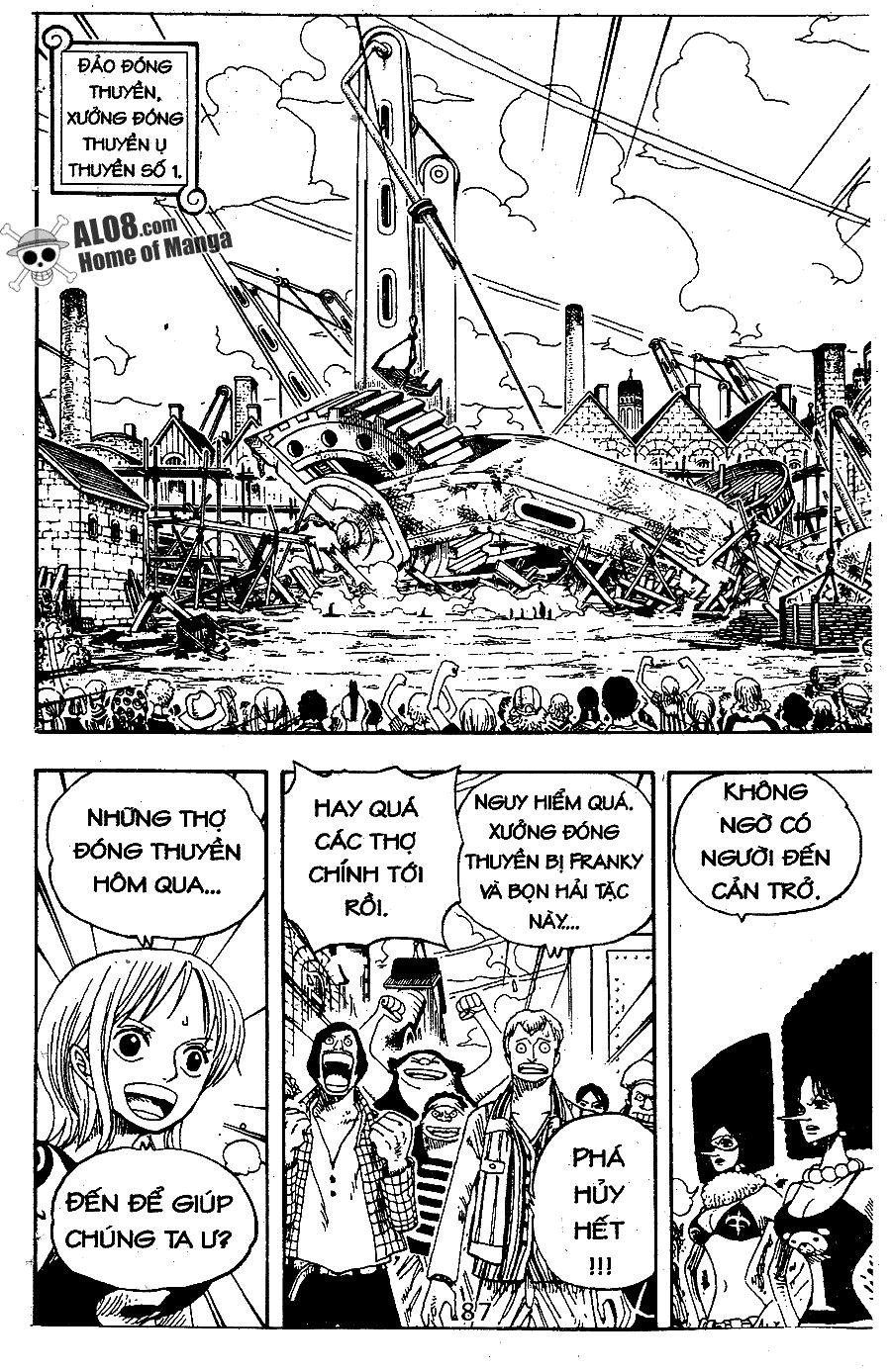 One Piece Chap 337 - truyen One Piece online