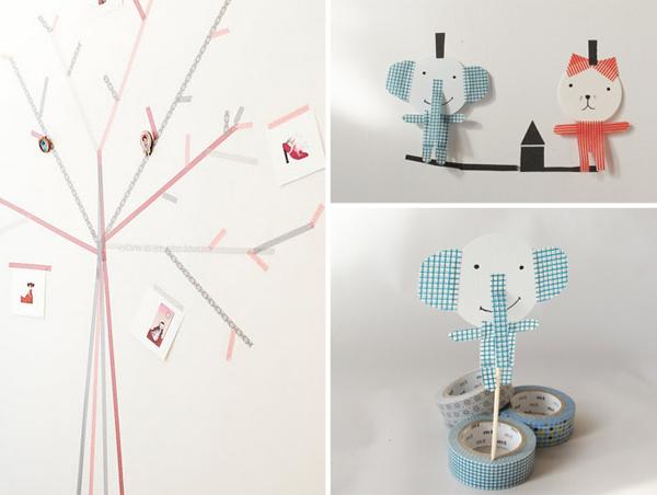 Washi tape ideas decoracion - Decorar con washi tape ...