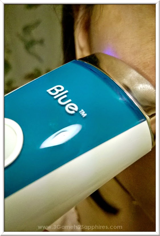 Trying Silk'n Blue At-Home Acne Treatment #SilknProducts