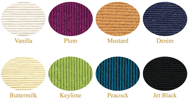 Cashmerino Silk / Wool Color Selection