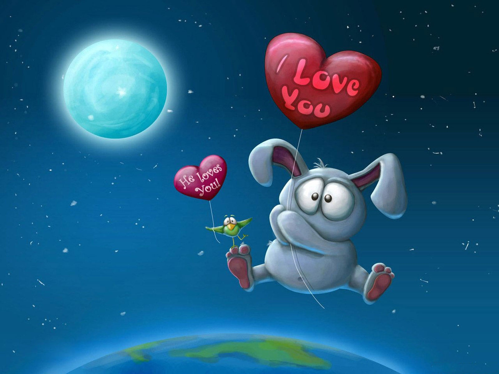 I Love You He loves You 1600x1200 Wallpaper