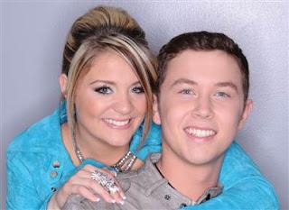 Lauren Alaina and Scotty Mccreery