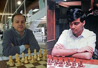 Alonso Zapata y Vishy Anand