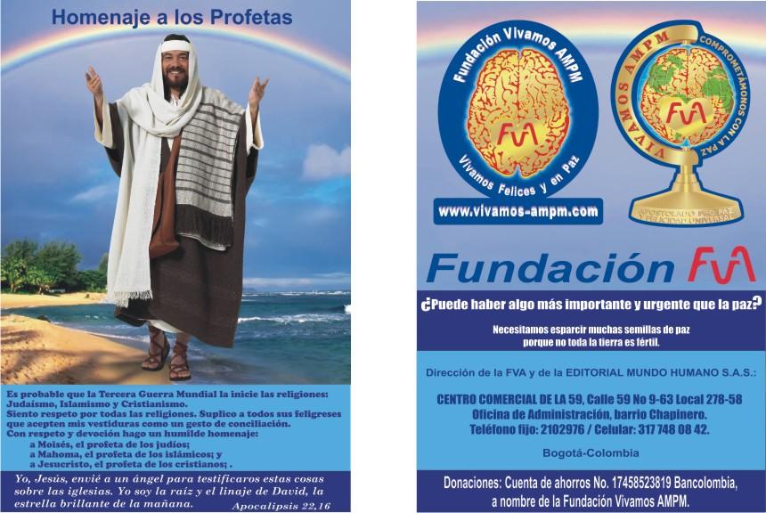 Homenaje a los Profetas y nuestra Fundación FVA