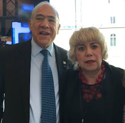 *Angel GURRIA, SG de l'OCDE &  Morgane BRAVO*