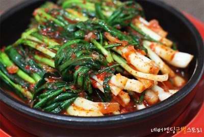 Làm món ăn ngon với Kim chi Hàn Quốc