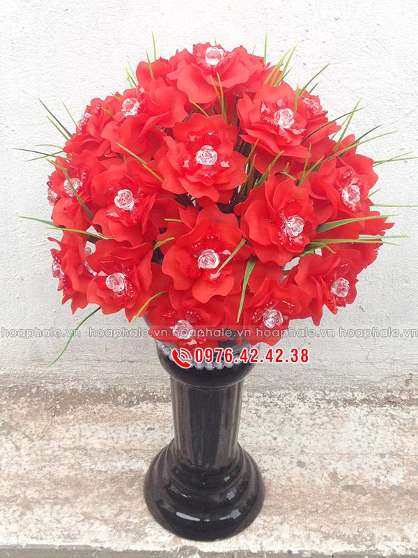 Hoa hồng tặng thầy cô | Hoa pha lê