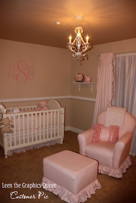 glamorous nursery