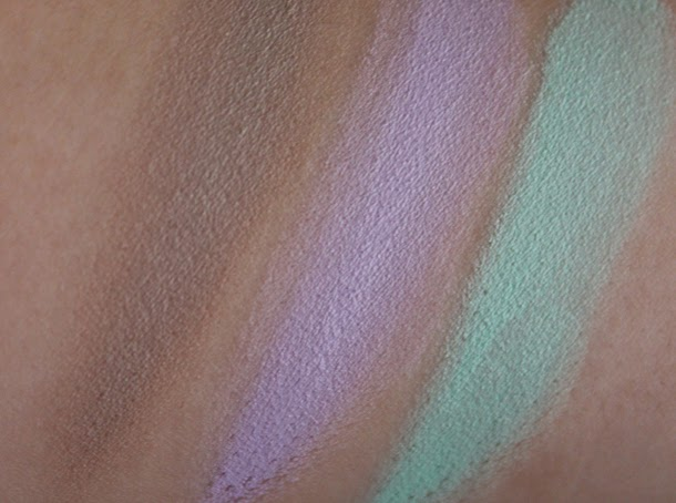 illamasqua cream pigments review dab hollow bedaub swatches