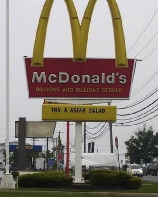 McDonalds Fails Photos