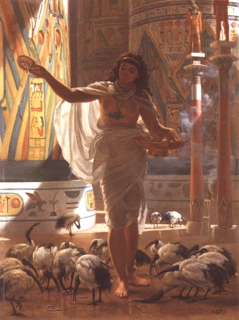 Sir Edward John Poynter 1836-1919 - pintor clásico británico - Tutt'Art @