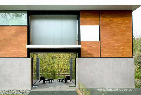 Sector de casa prefabricada americana Flatpack