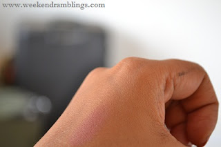 lakme fantasy collection cheek artist blush kiss of a rose review swatches
