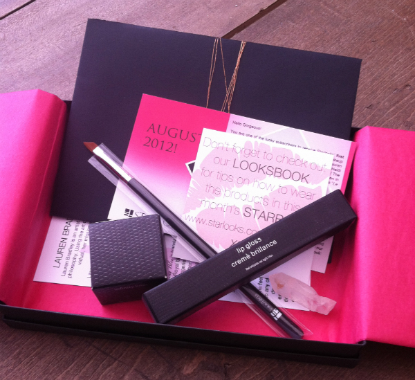 StarBox by StarLooks Review - Make Up and Beauty Monthly Subscription Box - August 2012