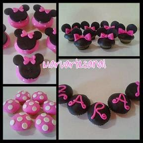 cup cake Minnie Mouse