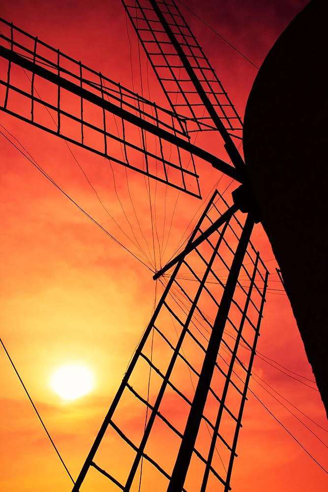 Molino de viento Formentera