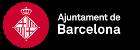 Banner con el logotipo del Ayuntamiento de Barcelona