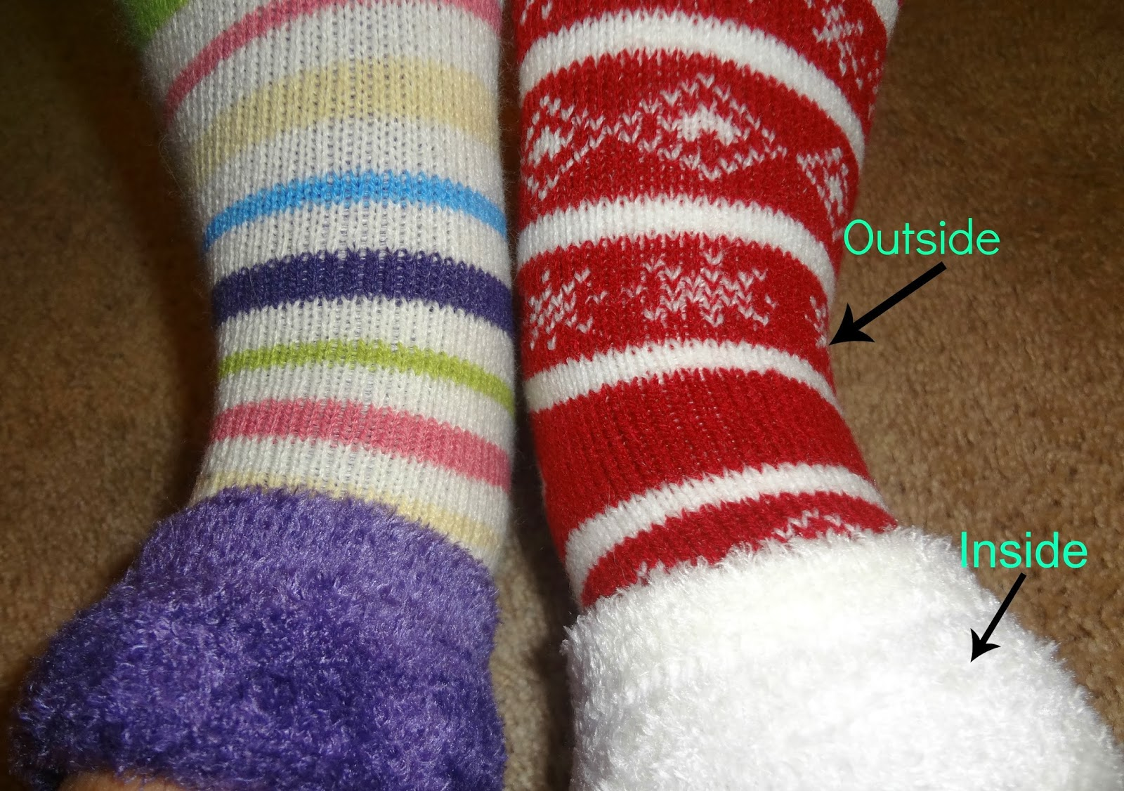 Fairytales and fitness cozy things for running in the cold for Warm cabin socks