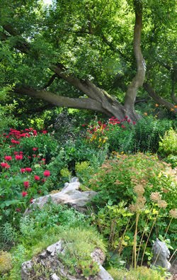 A Garden of Spiritual Healing