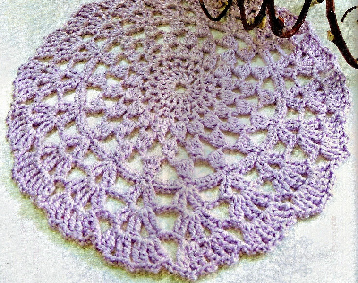 coleção toalhinhas croche em croche com receita blog