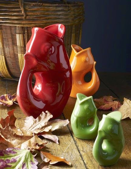 Celebrating autumn with coastal decorations fit for fall completely coastal - Gurgling water pitcher ...